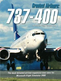 Caratula de Greatest Airliners 737-400, The para PC