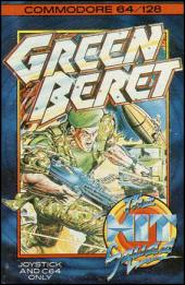 Caratula de Green Beret para Commodore 64