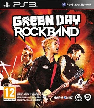 Caratula de Green Day: Rock Band para PlayStation 3