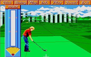 Pantallazo de Greg Norman's Ultimate Golf: Shark Attack para Atari ST