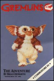 Caratula de Gremlins: The Adventure para Commodore 64