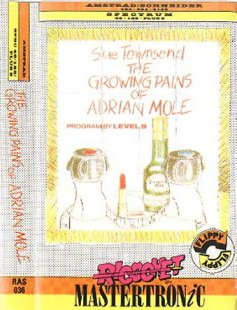 Caratula de Growing Pains Of Adrian Mole para Amstrad CPC
