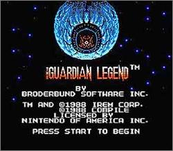 Pantallazo de Guardian Legend, The para Nintendo (NES)