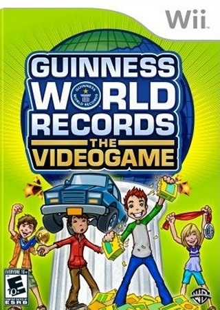 Caratula de Guinness World Records: The Videogame para Wii