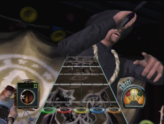 Pantallazo de Guitar Hero: Aerosmith para PlayStation 2