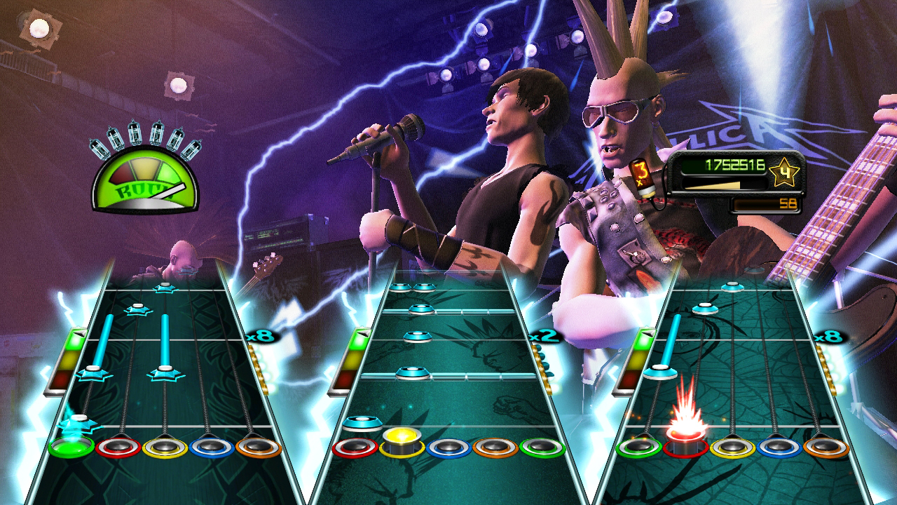 Pantallazo de Guitar Hero: Metallica para PlayStation 3