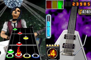 Pantallazo de Guitar Hero: On Tour para Nintendo DS