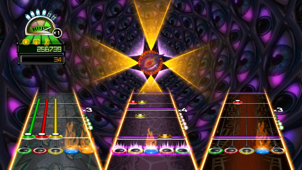 Pantallazo de Guitar Hero: World Tour para PC