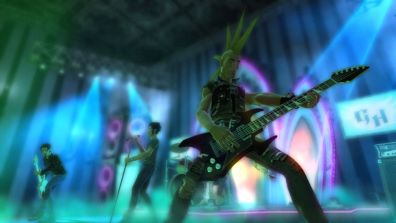 Pantallazo de Guitar Hero: World Tour para PlayStation 2