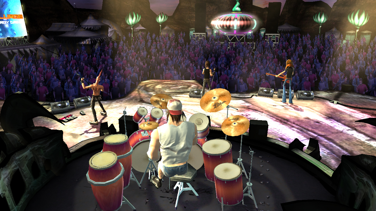Pantallazo de Guitar Hero III: Legends Of Rock para PlayStation 2