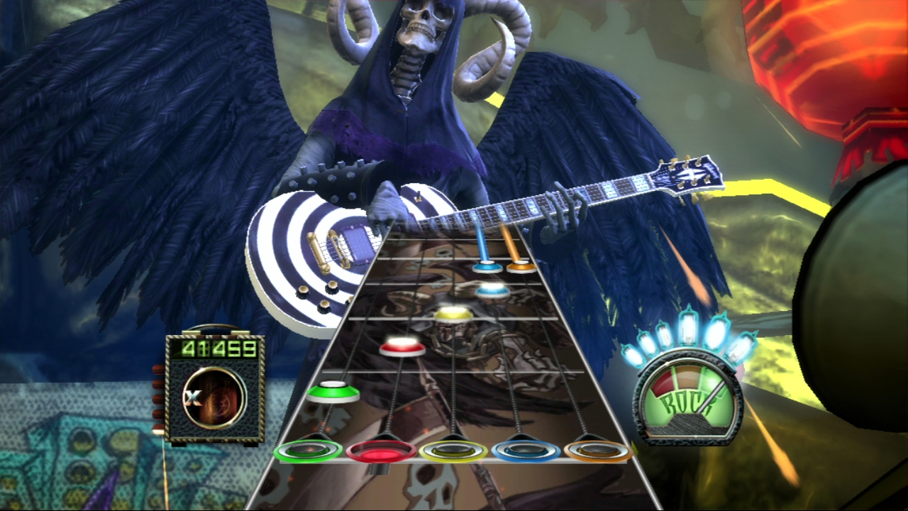 Pantallazo de Guitar Hero III: Legends of Rock para PlayStation 3