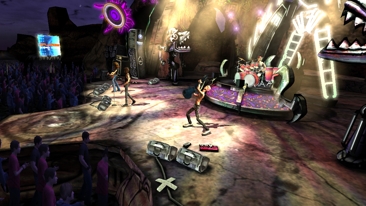 Pantallazo de Guitar Hero III : Legends of Rock para Xbox 360