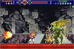 Pantallazo de Gunstar Super Heroes para Game Boy Advance