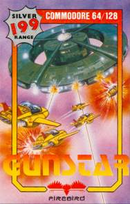 Caratula de Gunstar para Commodore 64