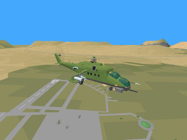 Pantallazo de HIND: The Russian Combat Helicopter Simulation para PC