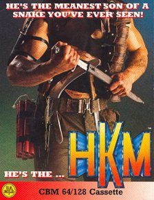Caratula de HKM - Human Killing Machine para Commodore 64