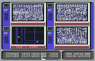 Pantallazo de Hacker II: The Doomsday Papers para Commodore 64