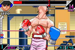Pantallazo de Hajime no Ippo - The Fighting (Japonés) para Game Boy Advance