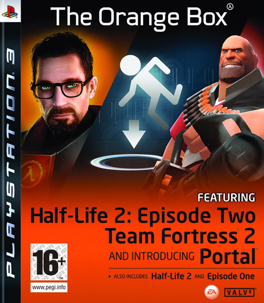 Caratula de Half-Life 2 : Orange Box para PlayStation 3