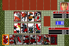 Pantallazo de Hanafuda Trump Mahjong (Japonés) para Game Boy Advance