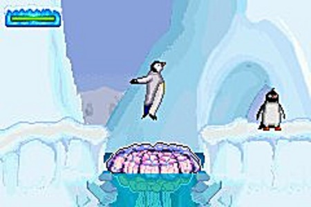Pantallazo de Happy Feet para Game Boy Advance