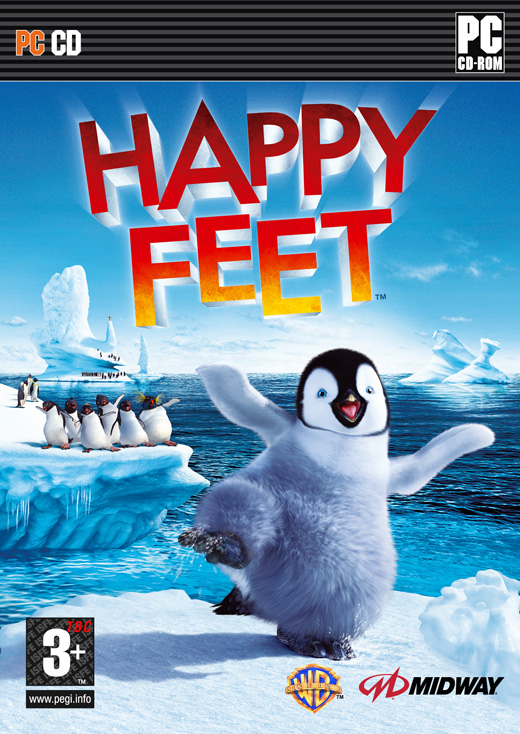 Caratula de Happy Feet para PC