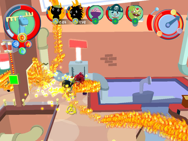 Pantallazo de Happy Tree Friends: False Alarm para PC