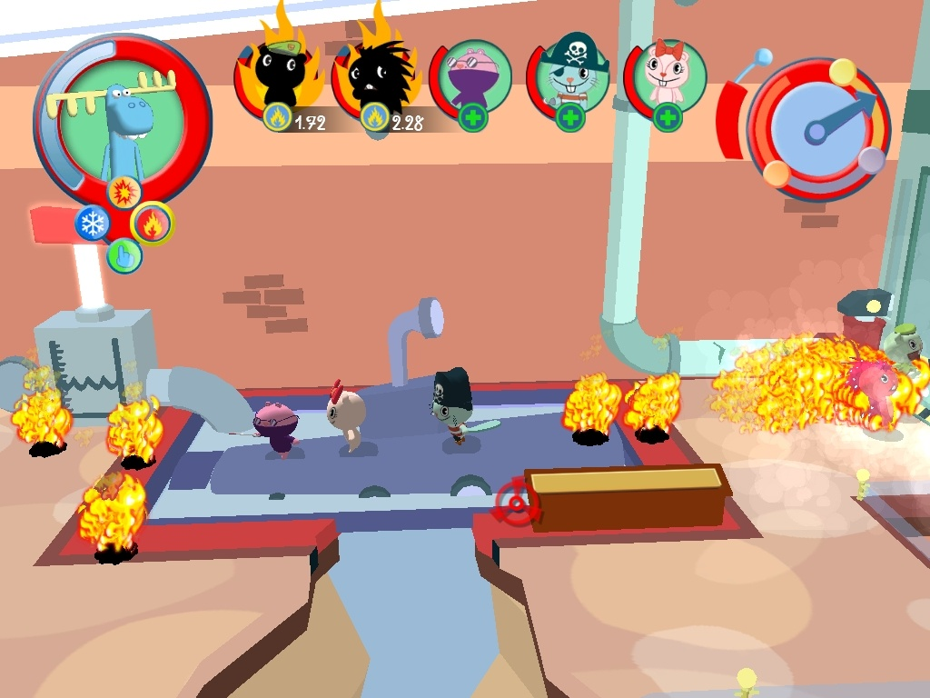 Pantallazo de Happy Tree Friends: False Alarm para Xbox 360