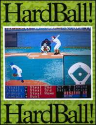 Caratula de Hardball para Commodore 64