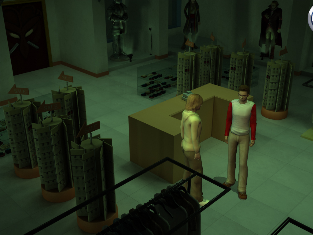 Pantallazo de Hardy Boys, The: The Hidden Theft para Wii