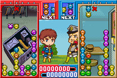 Pantallazo de Haro no Puyo Puyo (Japonés) para Game Boy Advance