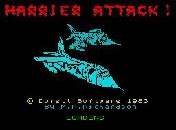Pantallazo de Harrier Attack! para Spectrum