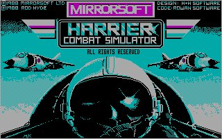 Pantallazo de Harrier Combat Simulator para PC