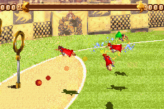 Pantallazo de Harry Potter: Quidditch World Cup para Game Boy Advance