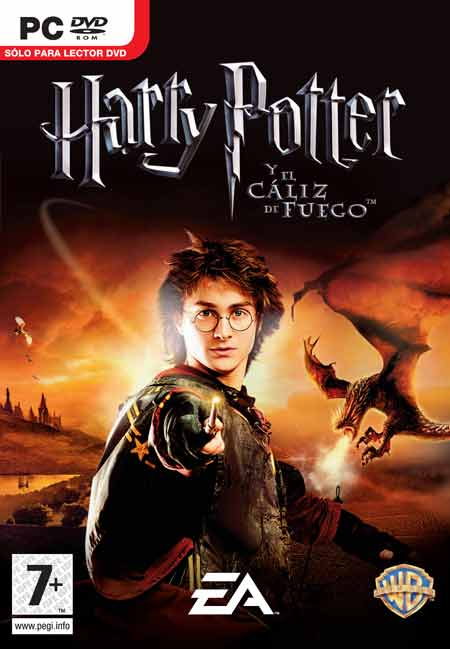 Caratula de Harry Potter and the Goblet of Fire para PC