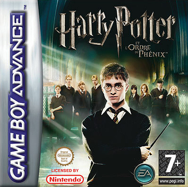 Caratula de Harry Potter and the Order of the Phoenix para Game Boy Advance