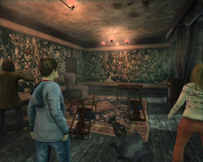 Pantallazo de Harry Potter and the Order of the Phoenix para PlayStation 2