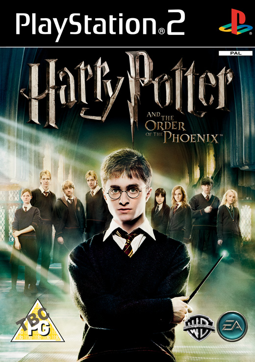 Caratula de Harry Potter and the Order of the Phoenix para PlayStation 2