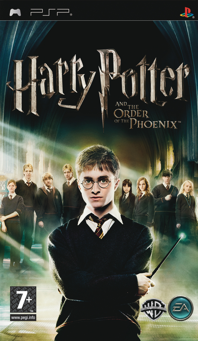 Caratula de Harry Potter and the Order of the Phoenix para PSP