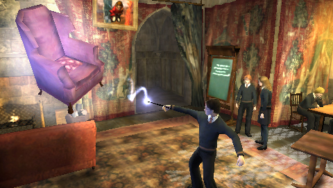 Pantallazo de Harry Potter and the Order of the Phoenix para PSP