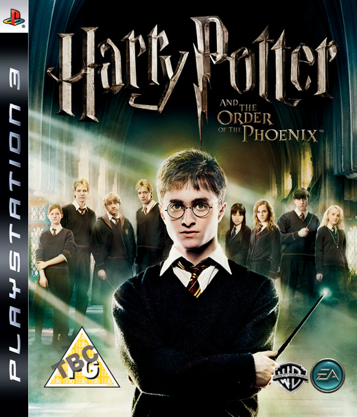 Caratula de Harry Potter y La Orden del Fénix para PlayStation 3