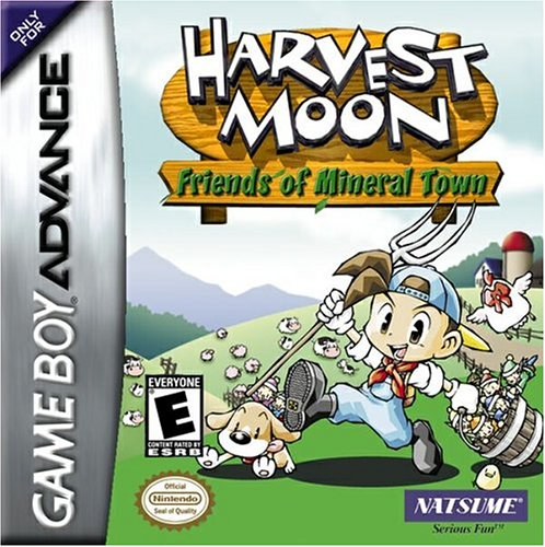 Caratula de Harvest Moon: Friends of Mineral Town para Game Boy Advance