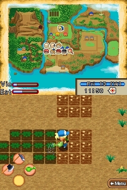 Pantallazo de Harvest Moon: Island of Happiness para Nintendo DS