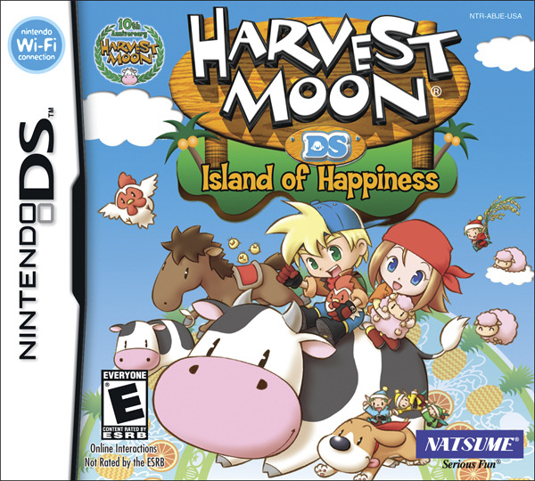 Caratula de Harvest Moon: Island of Happiness para Nintendo DS