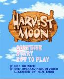 Caratula nº 123404 de Harvest Moon (Consola Virtual) (256 x 224)
