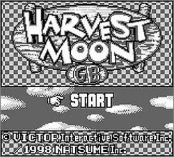 Pantallazo de Harvest Moon GB para Game Boy