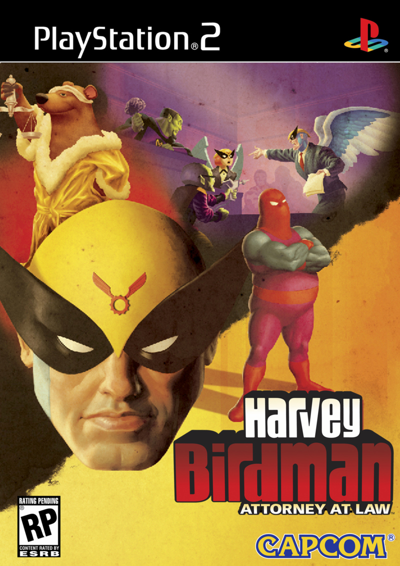 Caratula de Harvey Birdman: Attorney at Law para PlayStation 2
