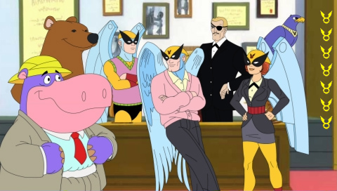 Pantallazo de Harvey Birdman: Attorney at Law para PSP