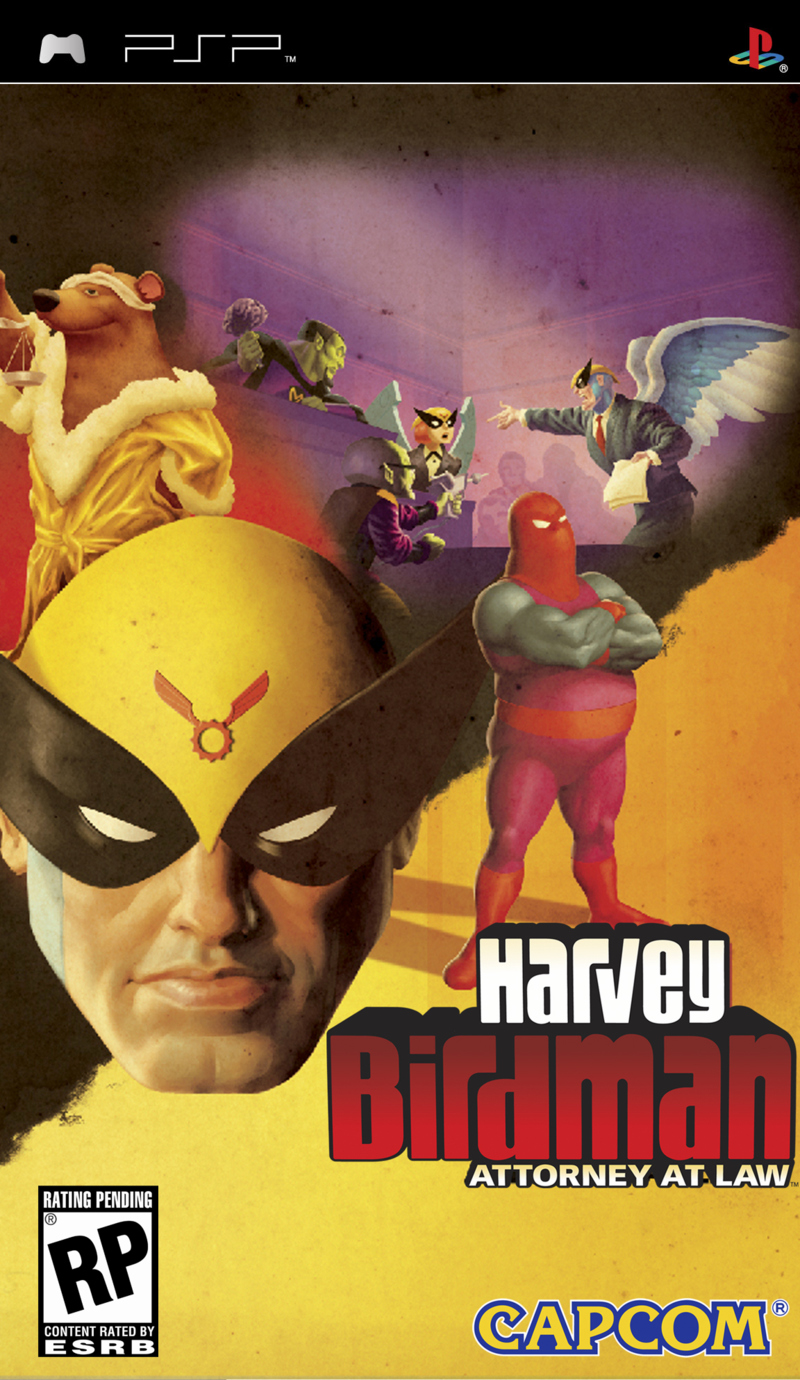 Caratula de Harvey Birdman: Attorney at Law para PSP