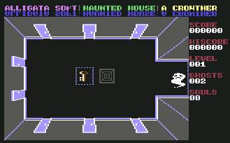 Pantallazo de Haunted House para Commodore 64